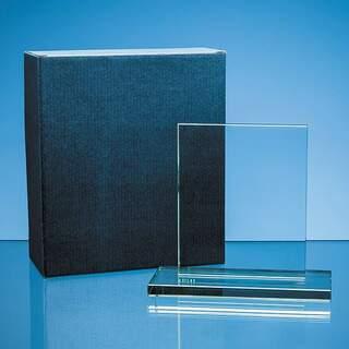 Blue 2 Glass or Small Award Skillet Box