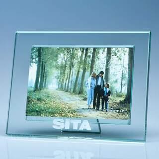 Jade Glass Photo Frame for 4inchinch x 6inchinch Photo  H